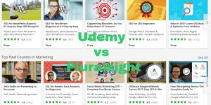 Udemy vs Pluralsight [Jul 2021]: Is Pluralsight or Udemy Better?