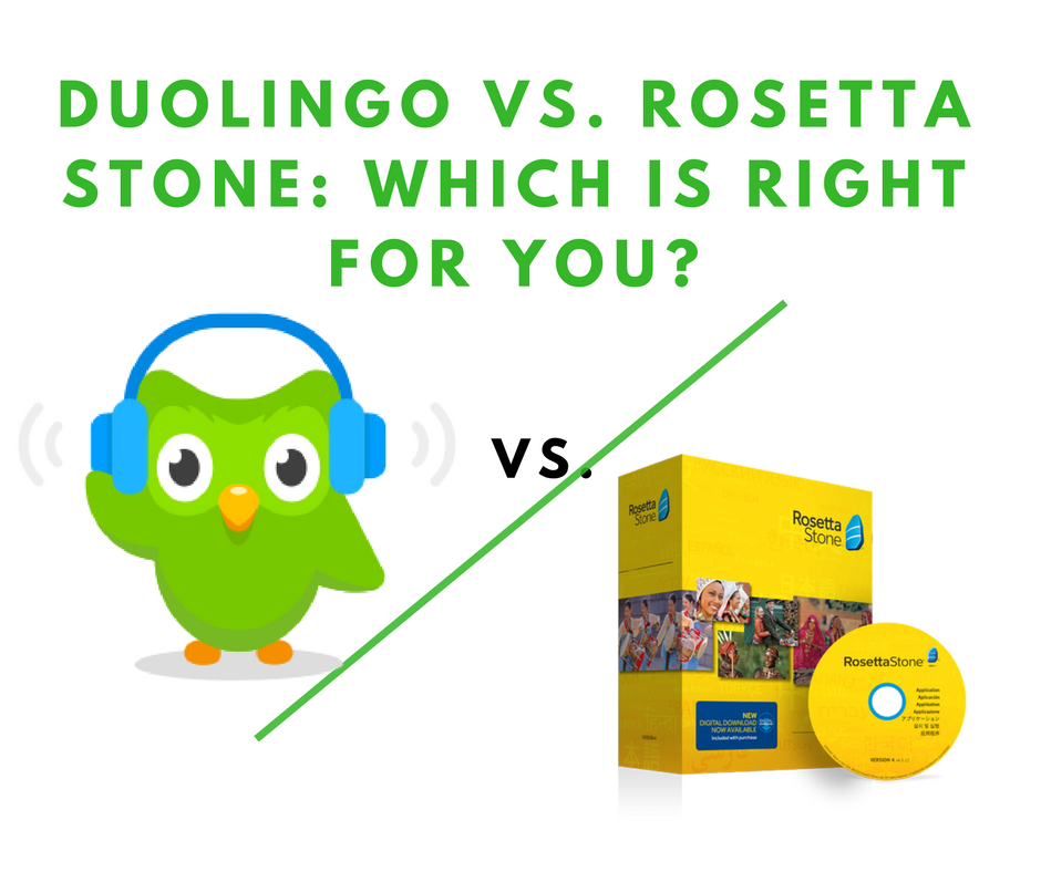Duolingo vs. Rosetta Stone: Which is Right for You?