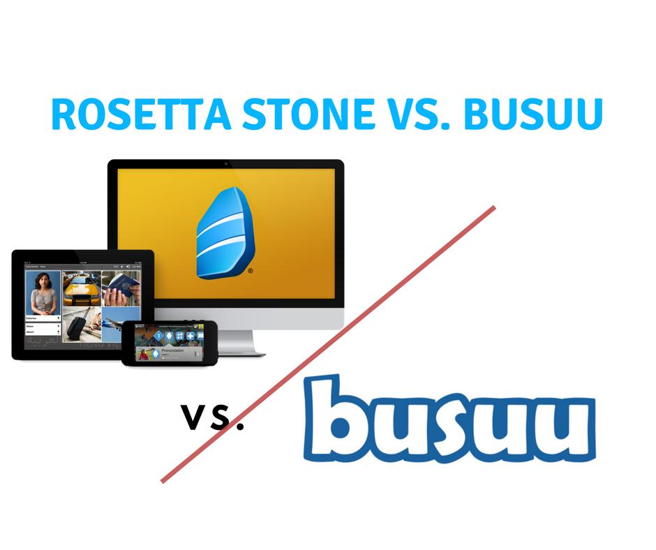 Rosetta Stone vs busuu: Is the Pedigree Truly Superior to the Underdog?