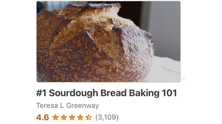Sourdough Bread Baking Udemy